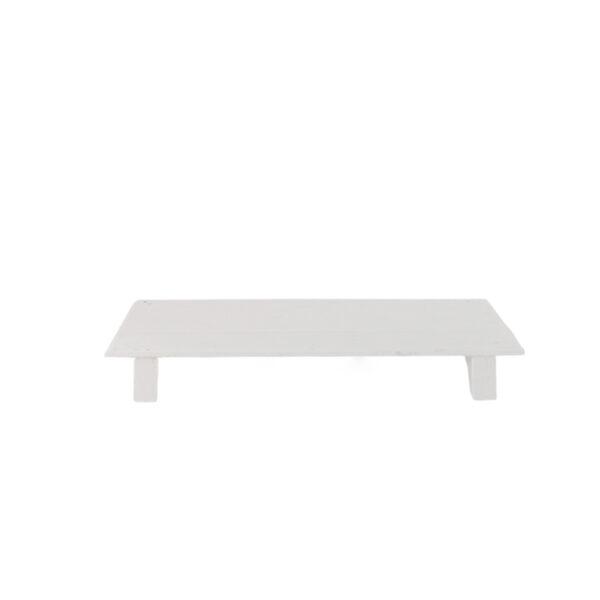 Jet at home - wit houten bajot tafeltje