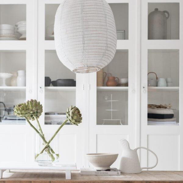 Jet at home - witte houten bajottafel